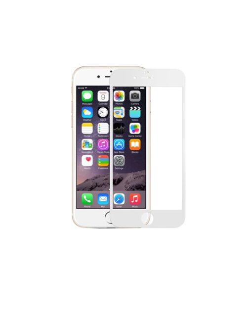 iPhone 6 kaitseklaas täisekraan valge