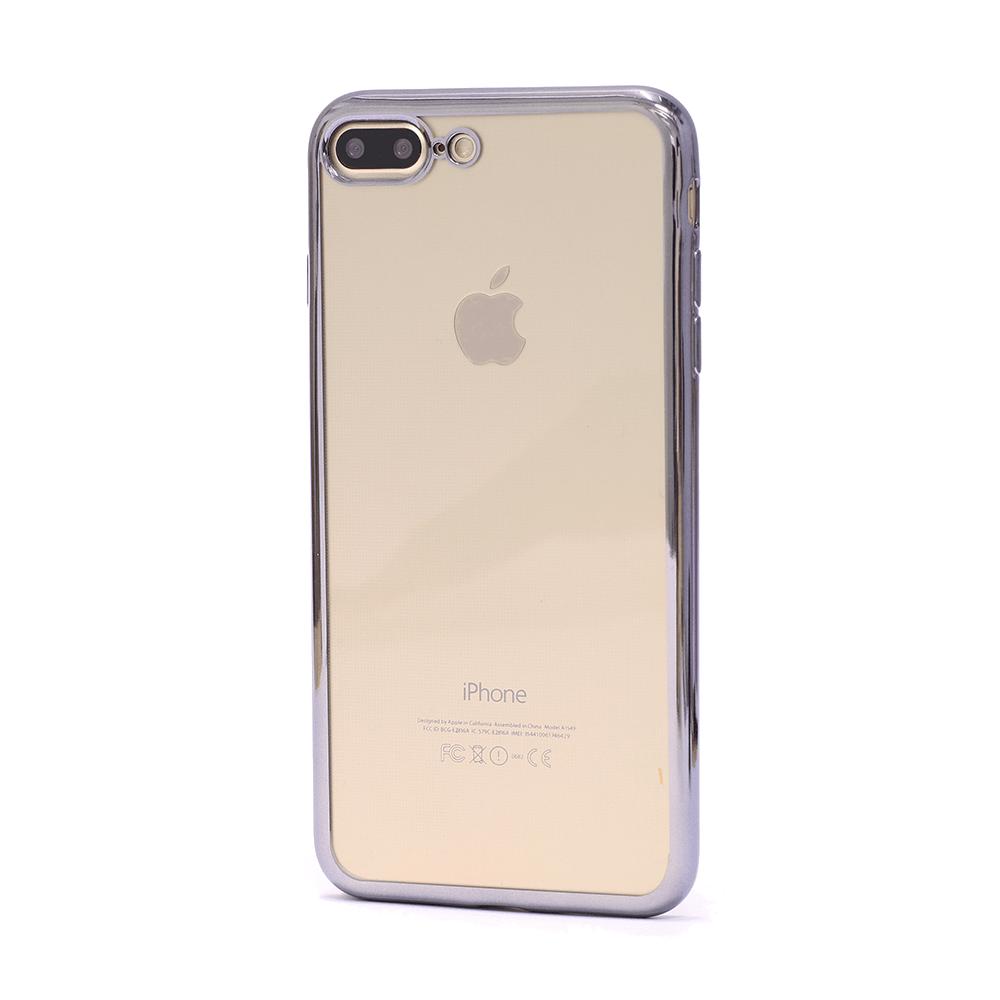 b137b8add9f iPhone 7/8 Plus läikivate äärtega ümbris - Kaitseklaasid ...