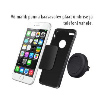 41f502ff4d6 Telefonihoidik autosse magnetiga - Kaitseklaasid, kaitsekiled, ümbrised
