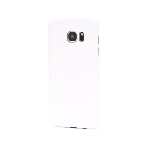 Samsung S7 Edge ümbris silikoonist valge sas7e y18 min