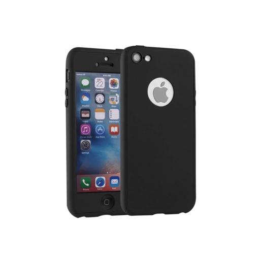 iPhone 5 5s SE 360 ümbris korpus must