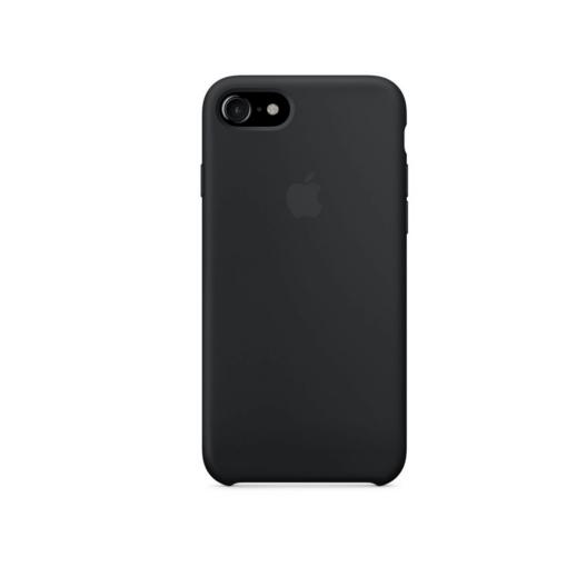 iPhone 7 Apple silikoonist ümbris must