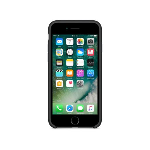 iPhone 7 Apple silikoonist ümbris must eest