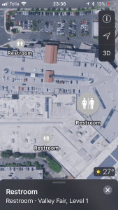 Apple maps kaart