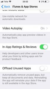 Rohkem Mahtu Offload unused apps