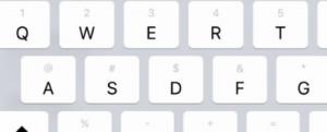 iPad klaviatuur