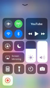 iphone ekraani filmimine lindistamine