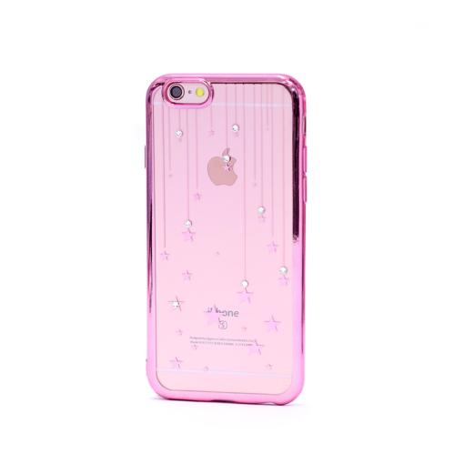 iPhone 6 6s korpus silikoonist kivikeste ja tähtedega RG
