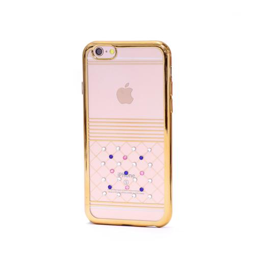 iPhone 6 6s korpus silikoonist kivikestega
