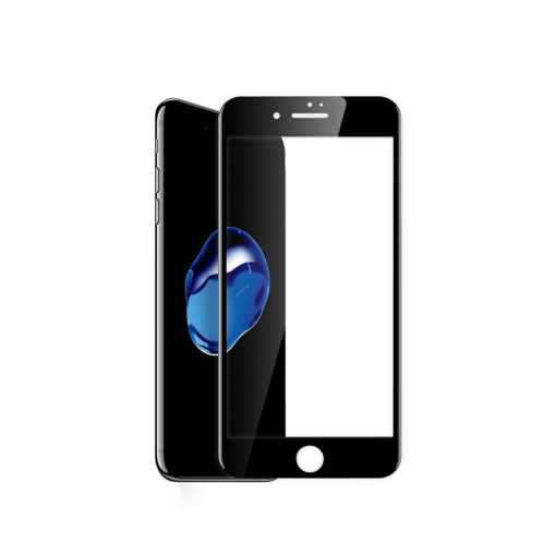 iPhone 8 iPhone 7 täisekraan kaitseklaas must