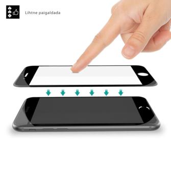 iPhone 8 ja iPhone 7 kaitseklaas paigaldus