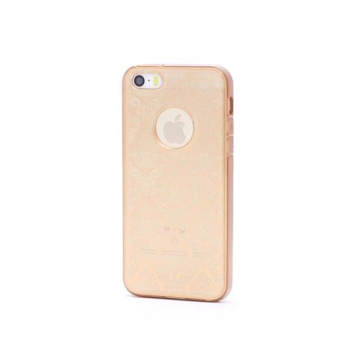 iphone 5 5s se ümbris muster kuldne