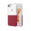 iPhone 8 7 ümbris Baseus Half to Half silikoonist punane
