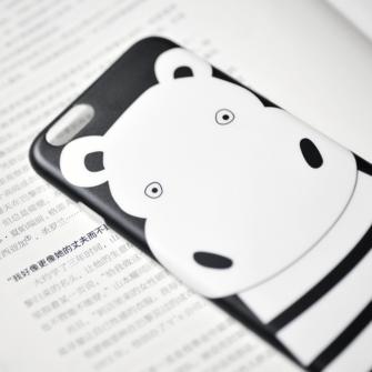 iPhone 8 7 ümbris Maoxin jõehobu silikoonist 1
