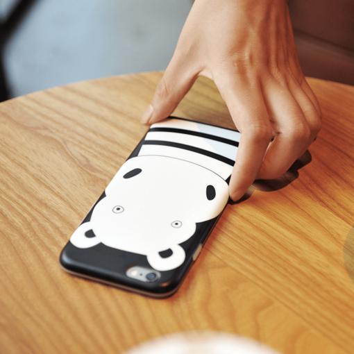 iPhone 8 7 ümbris Maoxin jõehobu silikoonist 2