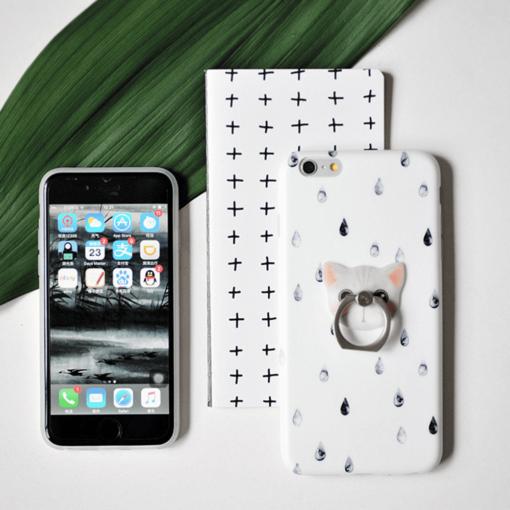 iPhone 8 7 ümbris Maoxin piisad silikoonist 4