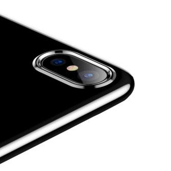 iPhone X ümbris Baseus Simple Gel TPU silikoon läbipaistev 5