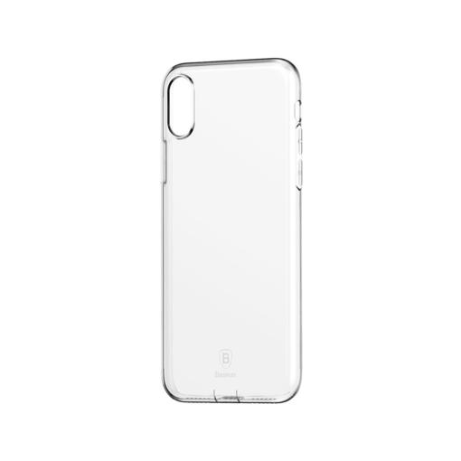 iPhone X ümbris Baseus Simple Gel TPU silikoon läbipaistev