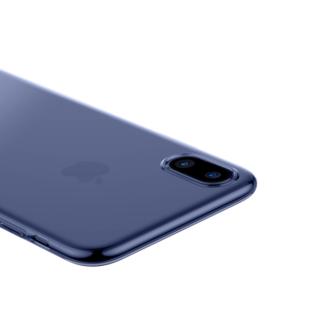 iPhone X ümbris Baseus Simple Gel TPU silikoon sinine 2