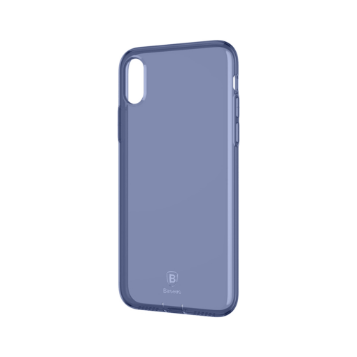 iPhone X ümbris Baseus Simple Gel TPU silikoon sinine