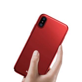 iPhone X ümbris Baseus Ultra Thin Punane 1