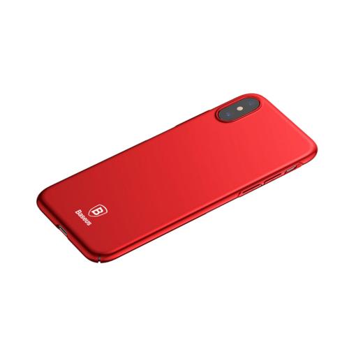 iPhone X ümbris Baseus Ultra Thin Punane 2