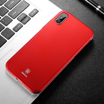 iPhone X ümbris Baseus Ultra Thin Punane 5