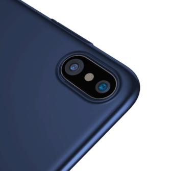 iPhone X ümbris Baseus Ultra Thin Sinine 3