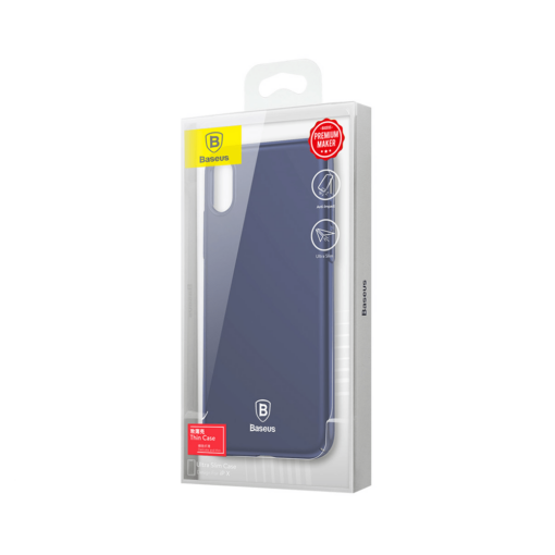 iPhone X ümbris Baseus Ultra Thin Sinine 6