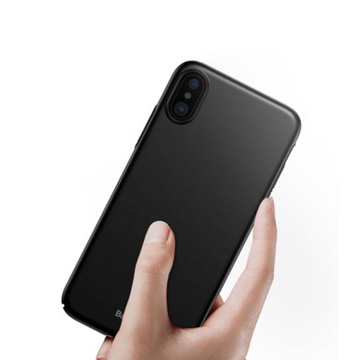 iPhone X ümbris Baseus Ultra Thin must 1