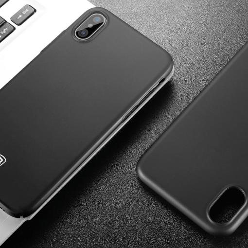 iPhone X ümbris Baseus Ultra Thin must 5