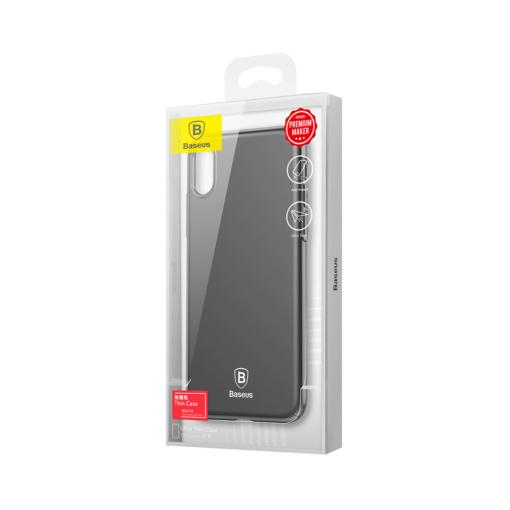 iPhone X ümbris Baseus Ultra Thin must 6