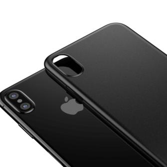 iPhone X ümbris Baseus Wing Case Ultra Thin must 1