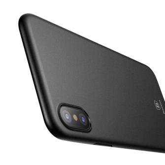 iPhone X ümbris Baseus Wing Case Ultra Thin must 2