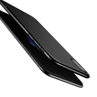 iPhone X ümbris Baseus Wing Case Ultra Thin must 4