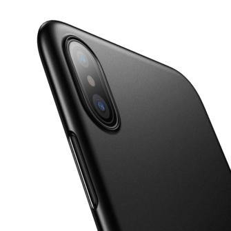 iPhone X ümbris Baseus Wing Case Ultra Thin must 5