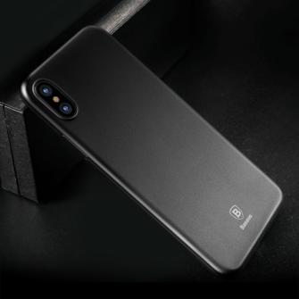 iPhone X ümbris Baseus Wing Case Ultra Thin must 6