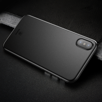 iPhone X ümbris Baseus Wing Case Ultra Thin must 7