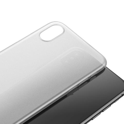 iPhone X ümbris Baseus Wing Case Valge 1