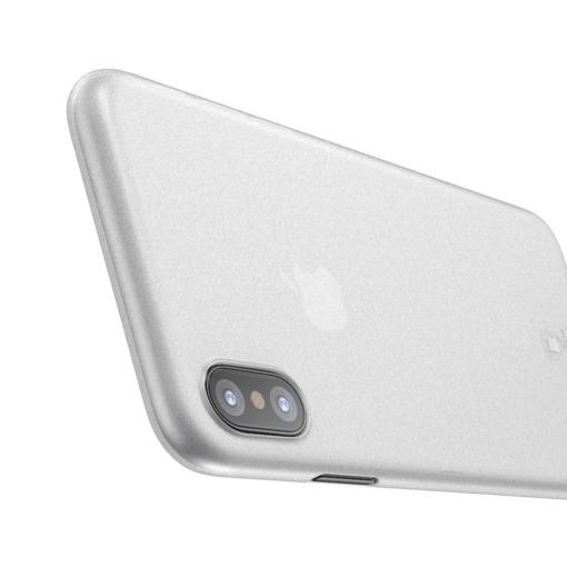 iPhone X ümbris Baseus Wing Case Valge 2