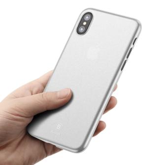 iPhone X ümbris Baseus Wing Case Valge 3