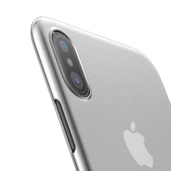 iPhone X ümbris Baseus Wing Case Valge 5