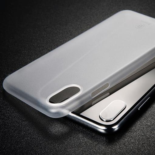 iPhone X ümbris Baseus Wing Case Valge 6