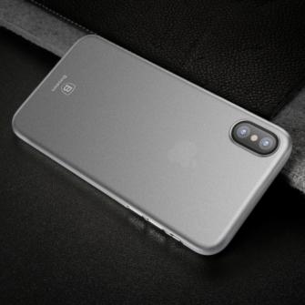 iPhone X ümbris Baseus Wing Case Valge 7