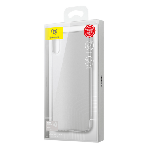 iPhone X ümbris Baseus Wing Case Valge 8