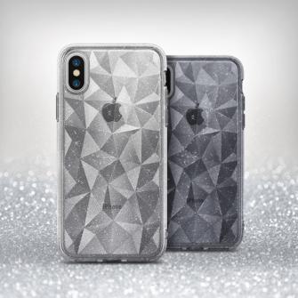iPhone X ümbris Ringke Air Prism Glitter 3D silikoonist ümbris hall 1