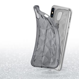 iPhone X ümbris Ringke Air Prism Glitter 3D silikoonist ümbris hall 2