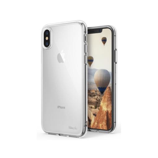iPhone X ümbris Ringke Air Ultra Thin silikoonist läbipaistev