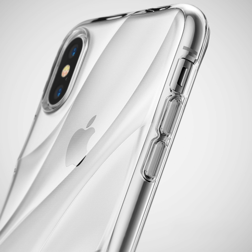 iPhone X ümbris Ringke Flow Case Cover Gray Hall 4