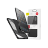iPhone X kaaned Baseus Touchable Case TPU Flip kaitseklaasiga must
